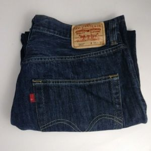 Levi's 569 loose fit jeans men's size 36 X 30
